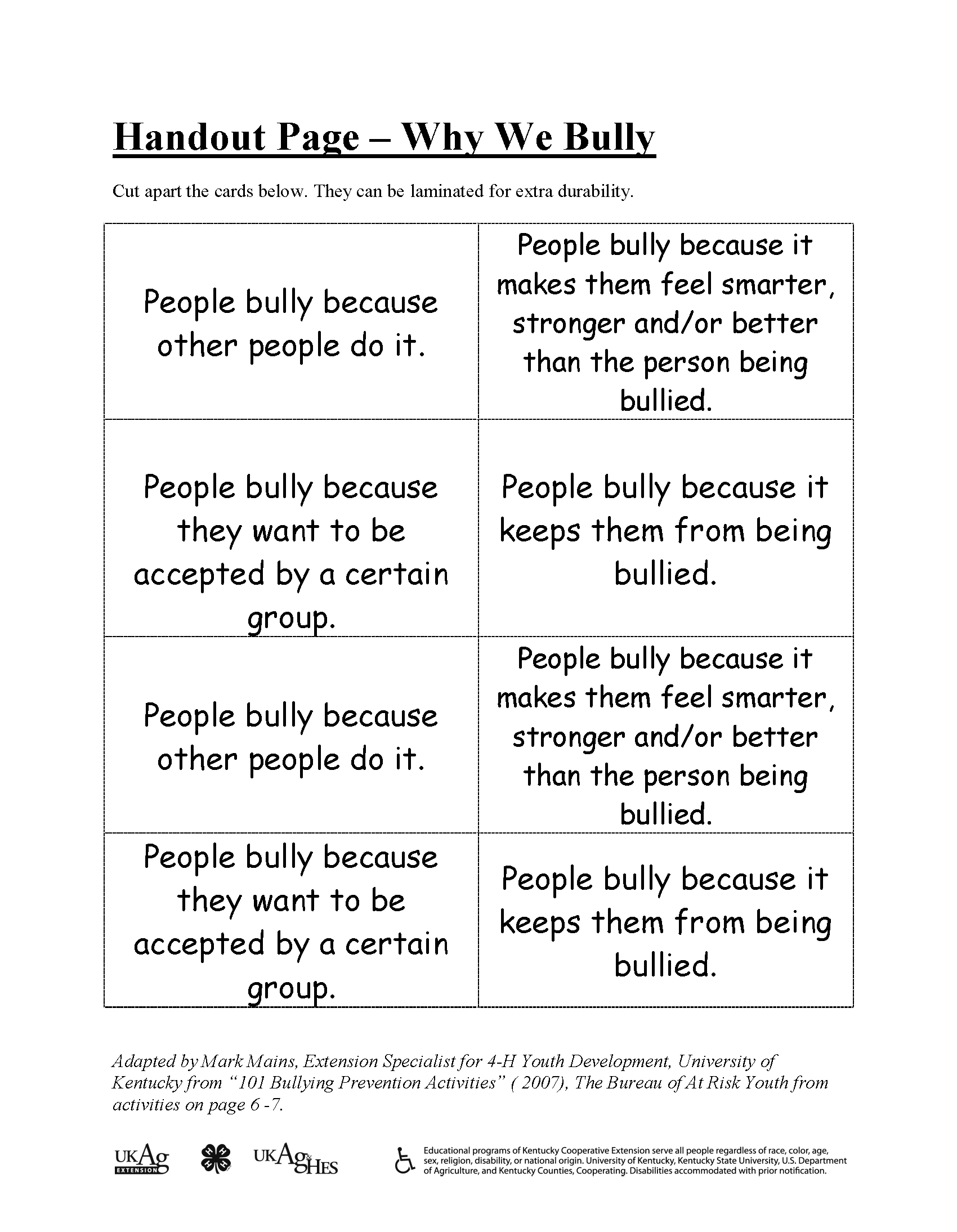 Bullying – What is It?