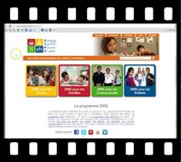 Vidéo explorer le site Web de DIRE